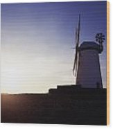 Ballycopeland Windmill, Co. Down Wood Print