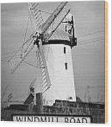 Ballycopeland Windmill County Down Ireland Wood Print