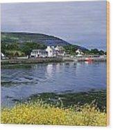 Ballyvaughan, Co Clare, Ireland Small Wood Print