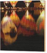 Baloominaria Reflections Wood Print