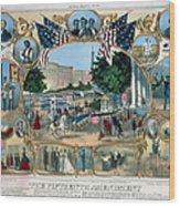 Baltimore: 15th Amendment Wood Print