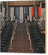 Baltimore Stairway Wood Print