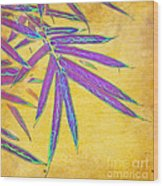 Bamboo Batik II Wood Print