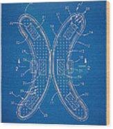 Banana Protection Device Patent Wood Print
