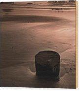 Bandon Sunset. Wood Print