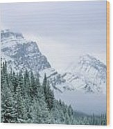 Banff National Park, Alberta, Canada Wood Print