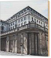 Bank Of England Wood Print