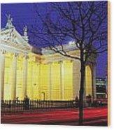 Bank Of Ireland, College Green, Dublin Wood Print
