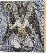 Baphomet Mosaic Wood Print