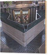 Baptismal Font Salisbury Cathedral - England Wood Print
