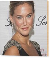 Bar Refaeli At Arrivals For The 2009 Wood Print by Everett
