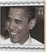 Barack Obama Portrait. Photographer Ellis Christopher Wood Print