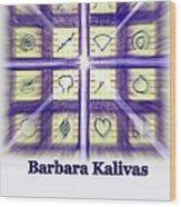 Barbara Kalivas Wood Print