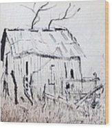 Barn 1 Wood Print by Rod Ismay