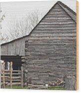 Barn Before Lightroom Wood Print