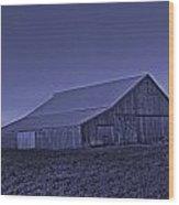 Barn Cold Wood Print
