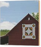 Barn Quilt - 2 Wood Print