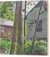 Barns 12 Wood Print
