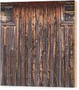 Barnside Number 3 Grand Tetons Wood Print