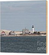 Barnstable Harbor Lighthouse Wood Print