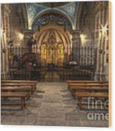 Baroque Church In Savoire France 4 Wood Print