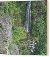 Barr Creek Falls Wood Print