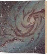 Barred Spiral Galaxy Ngc 1313 Wood Print