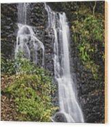 Barrow Beck Falls Lake District Uk Wood Print