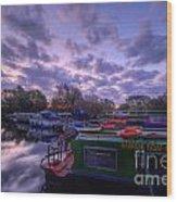 Barrow Boats 2.0 Wood Print