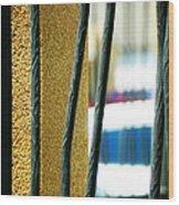 Bars Wood Print