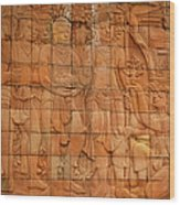 Bas Relief Wood Print