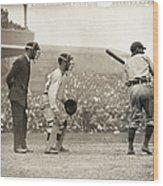 Baseball Game, 1908 Wood Print