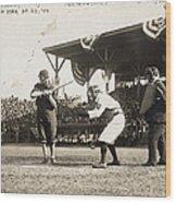 Baseball Game, 1909 Wood Print by Granger