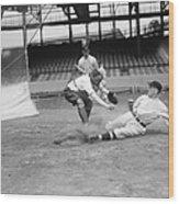 Baseball Game, C1915 Wood Print