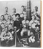 Baseball Team, C1898 Wood Print by Granger