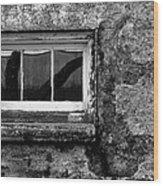 Basement Window Wood Print