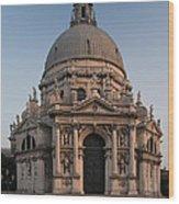 Basilica Of Santa Maria Della Salute Venice Wood Print