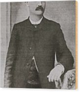 Bat Masterson 1853-1921, Sheriff Wood Print by Everett