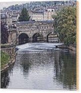 Bath England Wood Print