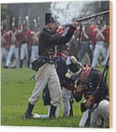 Battle 19 Wood Print