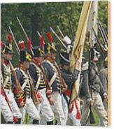 Battle 24 Wood Print