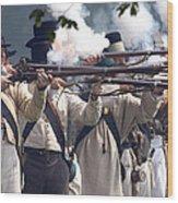 Battle 26 Wood Print