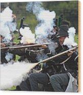 Battle 27 Wood Print