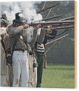 Battle 31 Wood Print