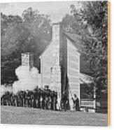Battle Of Carnifax Ferry Wood Print