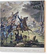 Battle Of Chantlly, 1862 Wood Print