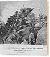 Battle Of Churubusco, 1847 Wood Print