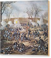 Battle Of Fort Donelson Wood Print