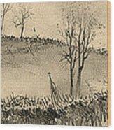Battle Of Kernstown, 1862 Wood Print