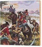 Battle Of Sedgemoor Wood Print
